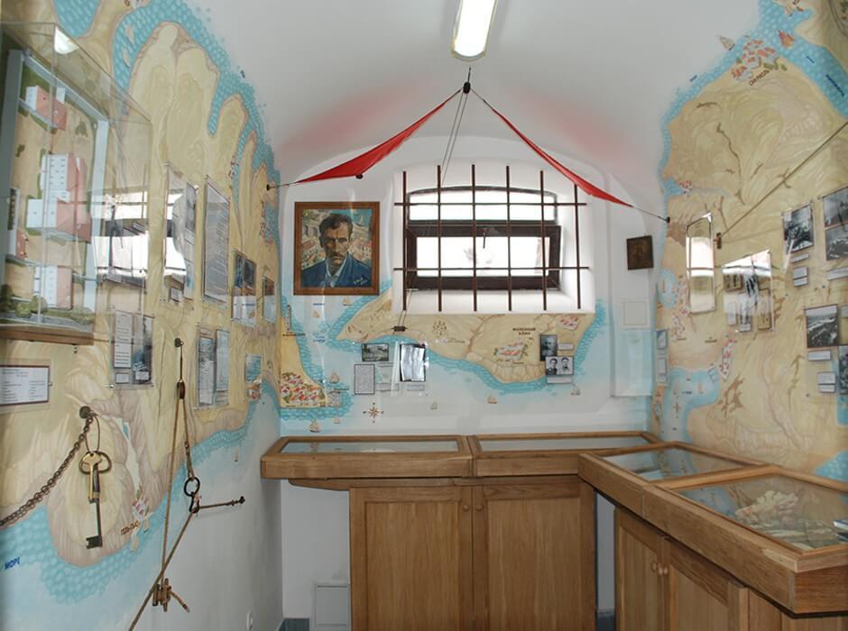 Музейная комната Александра Грина