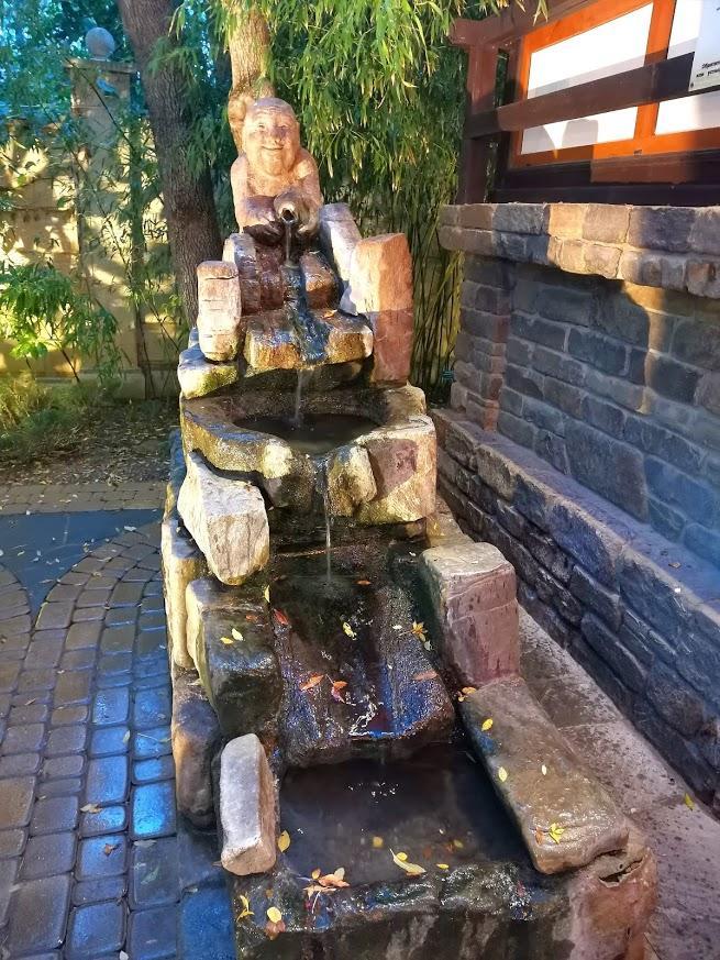 У японского сада
