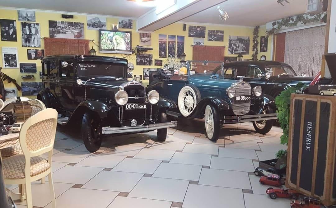 Музей ретро – автомобилей