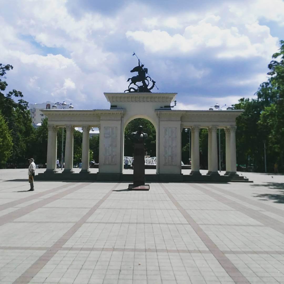 Арка в Краснодаре