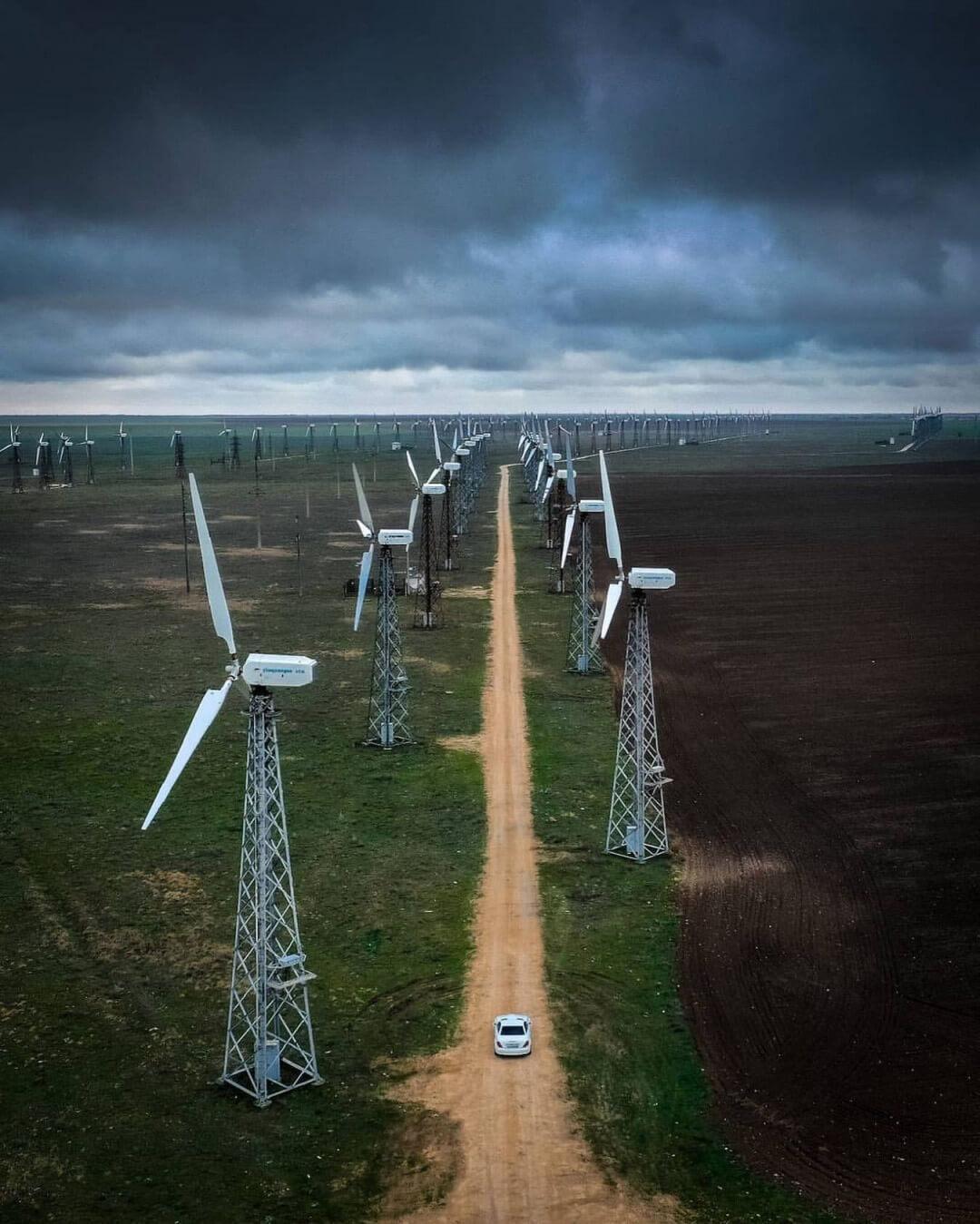 Ветрянные генераторы