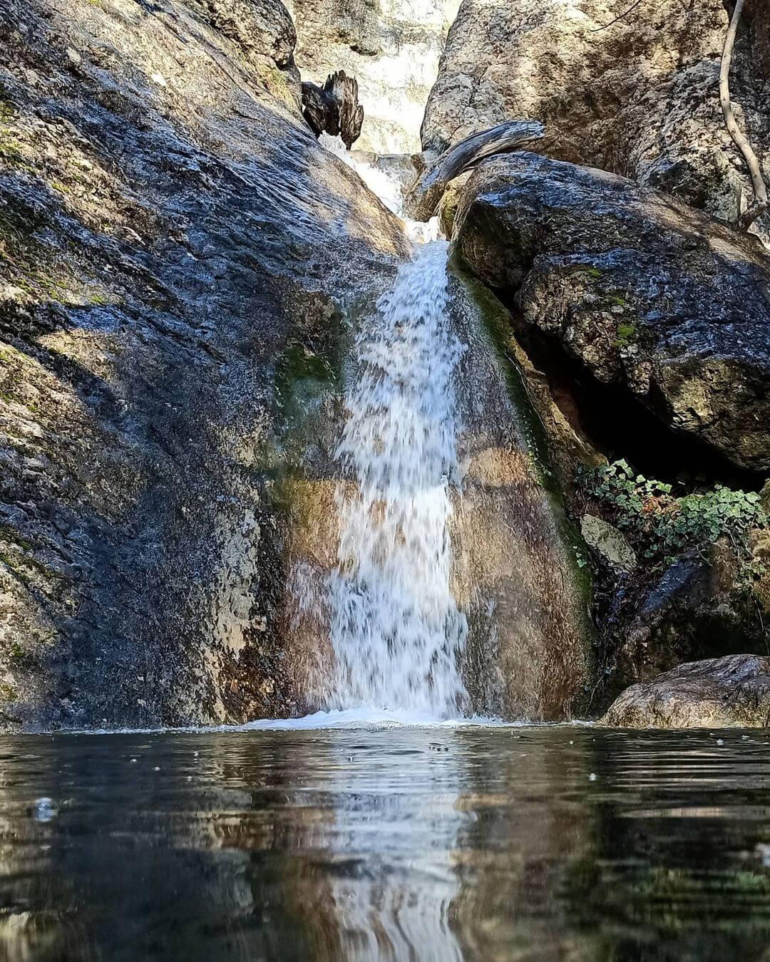Водопады реки Темиар