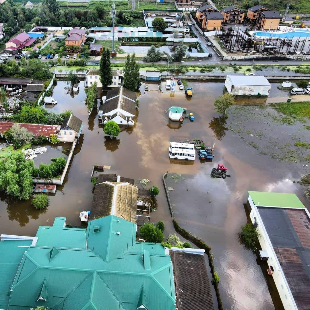 Тайфун в Анапе