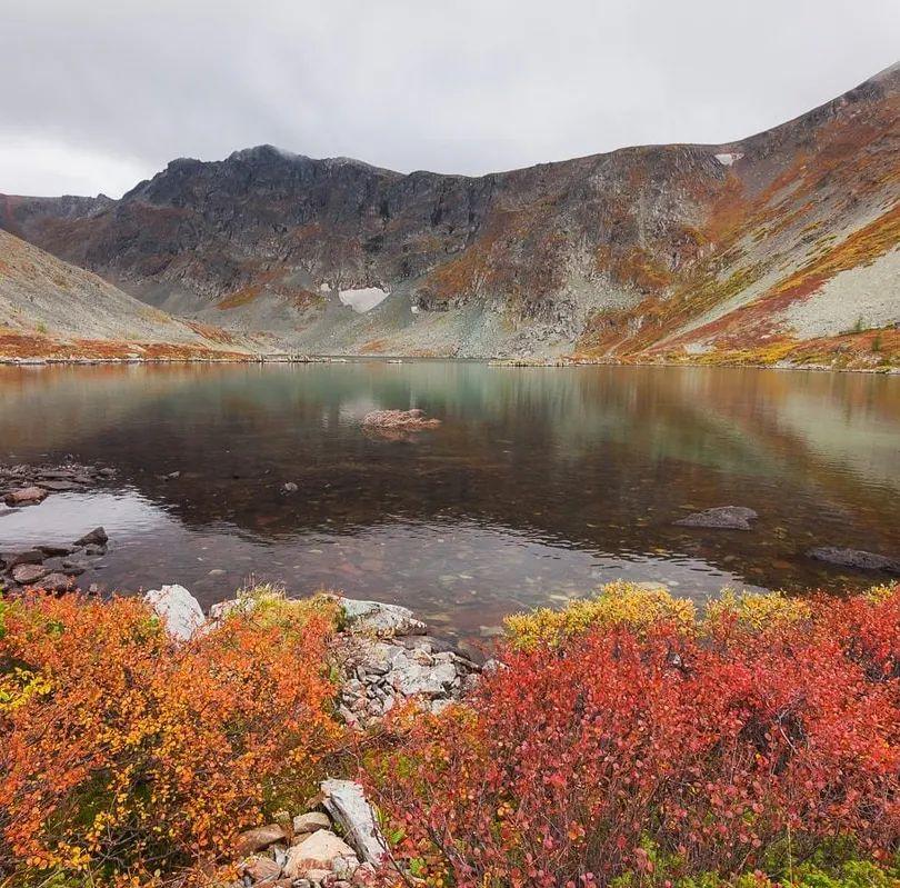 Осенью Алтай великолепен