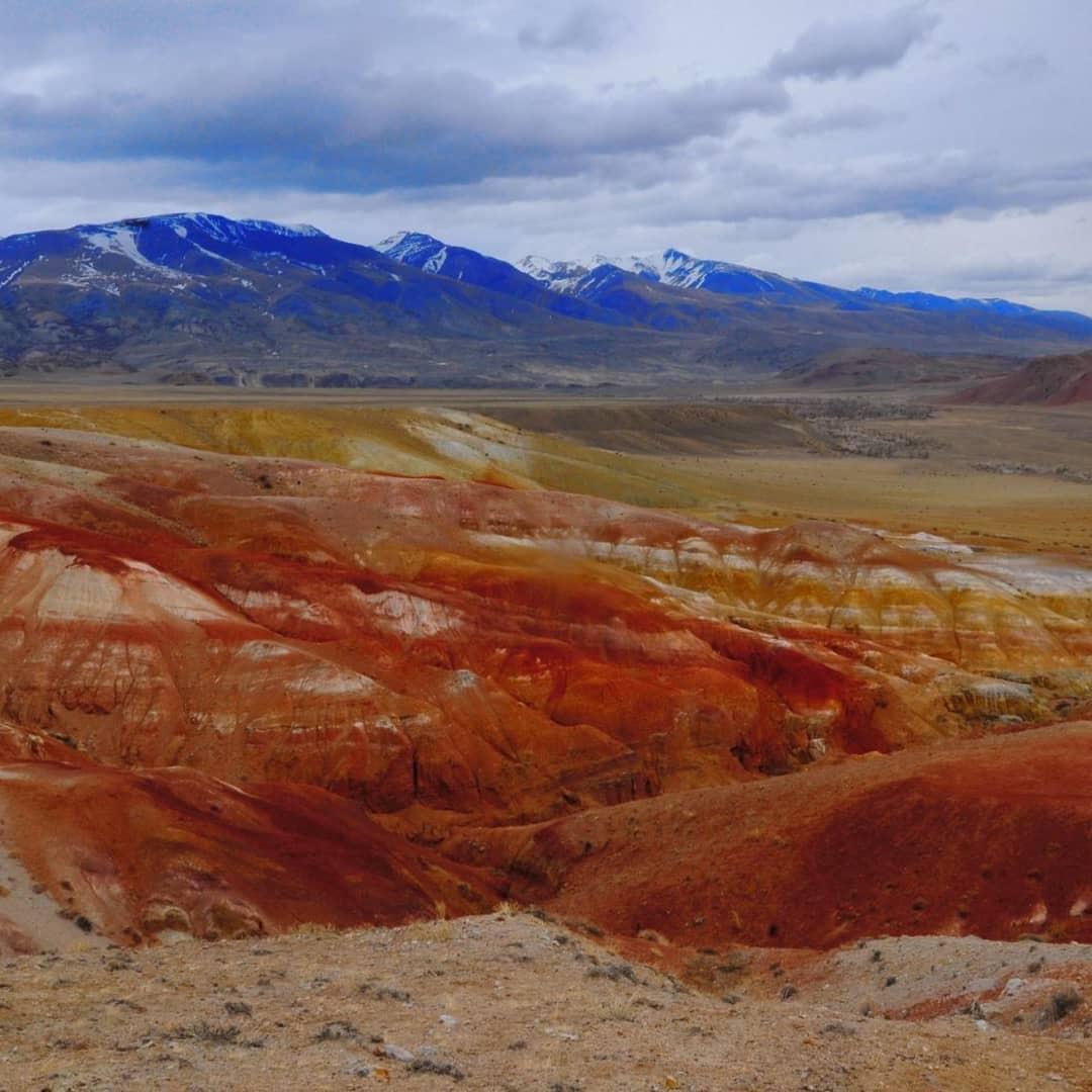 Долина марсианская на Алтае